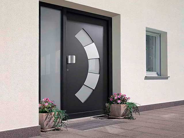 plastic entrance door 9