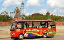 Варианты экскурсий по Москве